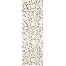 Thom Filicia Creme / Brown Rug
