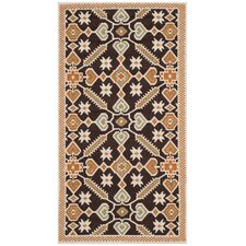 <strong>Safavieh</strong> Veranda Chocolate / Terracotta Rug