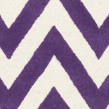 Cambridge Purple / Ivory Rug