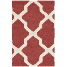 Cambridge Rust / Ivory Rug