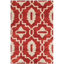 Chatham Red / Ivory Area Rug