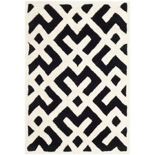 Chatham Black / Ivory Area Rug