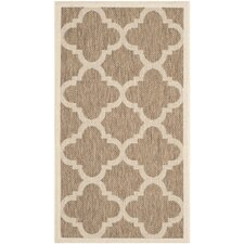 Courtyard Brown Outdoor Area Rug