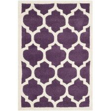 Chatham Purple/Ivory Moroccan Area Rug