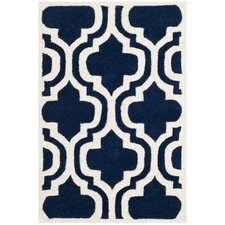 Chatham Dark Blue & Ivory Area Rug