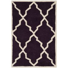 Chatham Dark Purple Moroccan Rug