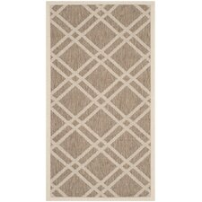 Courtyard Brown / Bone Rug