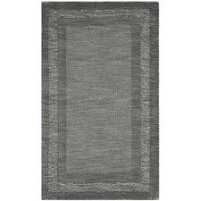 Impressions Charcoal / Blue Modern Rug