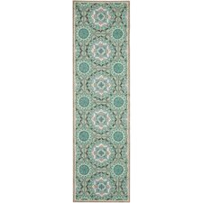 Four Seasons Mint / Aqua Outdoor Rug