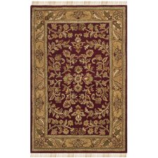 Heritage Red / Gold Rug