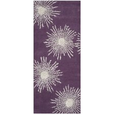 Soho Purple / Ivory Rug