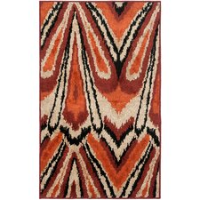 <strong>Safavieh</strong> Kashmir Orange / Multi Rug
