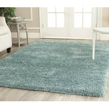 Light Blue Shag Rug
