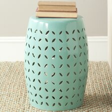 Lattice Petal Garden Stool