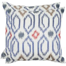 <strong>Safavieh</strong> Ashton Linen Decorative Pillow (Set of 2)