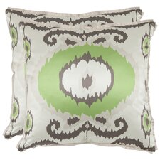 <strong>Safavieh</strong> Giselle Polyester Decorative Pillow (Set of 2)