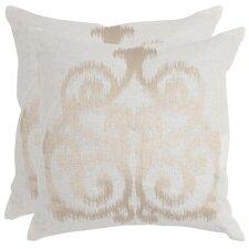 Harper Linen Decorative Throw Pillow (Set of 2)