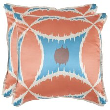 <strong>Safavieh</strong> Sasha Polyester Decorative Pillow (Set of 2)
