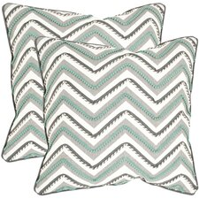 <strong>Safavieh</strong> Elli Cotton Decorative Pillow (Set of 2)