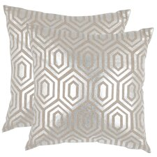 <strong>Safavieh</strong> Harper Linen Decorative Pillow (Set of 2)