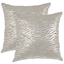 <strong>Safavieh</strong> Demi Linen Decorative Pillow (Set of 2)