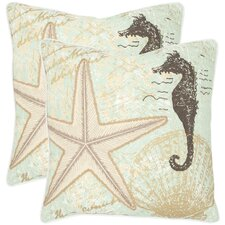 Lauren Cotton Decorative Pillow (Set of 2)