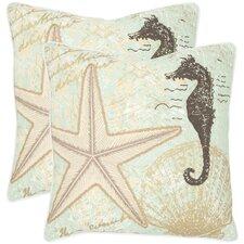Lauren Cotton Decorative Pillow (Set of 2)