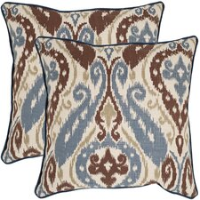 Charlie Cotton / Linen Decorative Pillow (Set of 2)