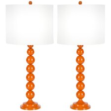 <strong>Safavieh</strong> Stacked Ball Table Lamp (Set of 2)