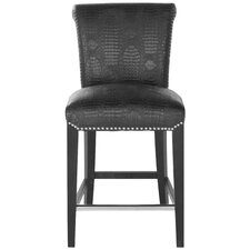 "Seth 24"" Bar Stool with Cushion"