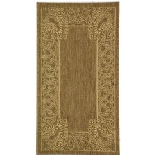 <strong>Safavieh</strong> Courtyard Brown/Natural Rug