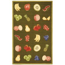 Chelsea Green Savoy Fruit Novelty Area Rug