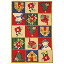 <strong>Safavieh</strong> Chelsea Chirstmas Day Novelty Rug