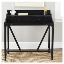 Borders Writing Desk with Keyboard Tray