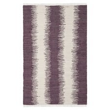 Montauk Purple Abstract Rug