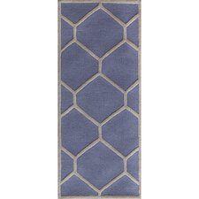 Cambridge Light Blue / Ivory Rug