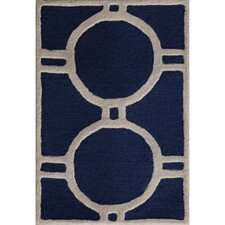 <strong>Safavieh</strong> Cambridge Navy Blue / Ivory Rug