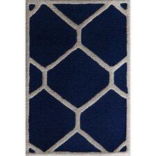 Cambridge Navy Blue / Ivory Area Rug