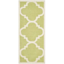 Cambridge Green / Ivory Rug