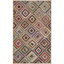 Cape Cod Natural & Red Area Rug