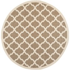 Outdoor Rug SizeCourtyard Brown / Bone Outdoor Rug