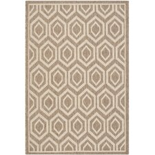 Courtyard Brown/Bone Rug