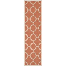Courtyard Terracotta Outdoor Rug