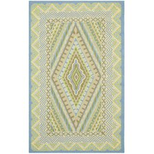 Four Seasons Blue/Yellow Outdoor Rug