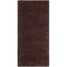 Milan Shag Brown Rug