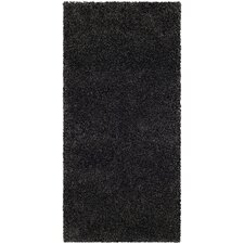 Milan Shag Dark Grey Rug