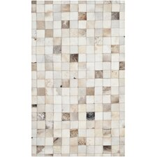 Studio Leather Beige / Multi Rug