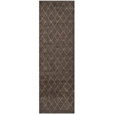 Tunisia Dark Brown Rug