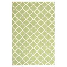 Newport Green / Ivory Geometric Rug