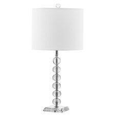 "Victoria Ball 24"" H Table Lamp with Drum Shade (Set of 2)"